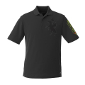 Men's French Manager Polo Shirt - Black