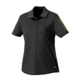 Ladies' French Manager Polo Shirt - Black